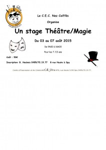 stage théatre